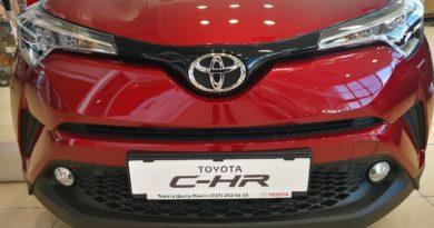 Toyota C-HR 2019 обзор, цены, комплектации