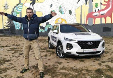 Hyundai Santa Fe 2.2 D тест-драйв Автопанорама
