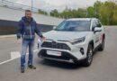 Тест-драйв Тойота Рав 4 2.5 бензин АКПП