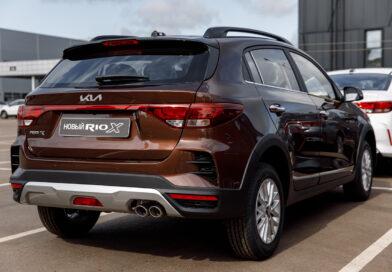 В Беларусь приехали первые автомобили Kia с новым логотипом