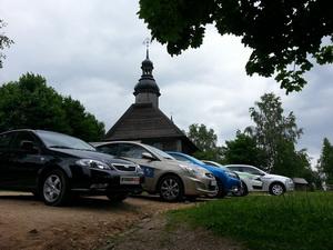 Renault Logan New, Hyundai Accent фэйслифтинг, Skoda Rapid, Citroen C-elysee, Daewoo Gentra